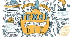 """The Texas """"Do Before I Die"""" List"""