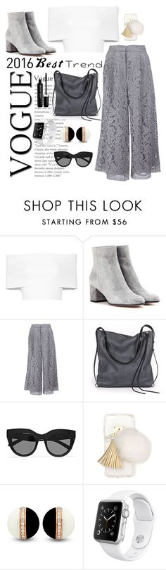 """""""Trends"""" by sarelle-20 ❤ liked on Polyvore featuring Rosetta Getty, Gianvito Rossi, ADAM, Ina Kent, Le Specs, Ashlyn'd, Apple and Marc Jacobs"""
