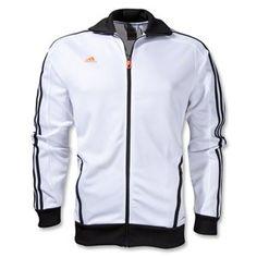 adidas Predator Style Track Jacket - Mens - White/Warning/Black