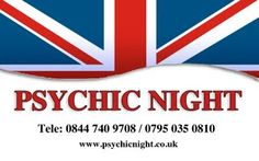 We are a Psychic Night Event Planning Service based in the North West of England  Psychic Night Events is one of the UK's leading creative event companies. From hen nights to private homeparties, team building to psychic dinners, our experienced event organisers are here to help you plan your day or evening.