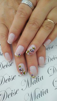 Fancy Nails, Pretty Nails, Mani Pedi, Pedicure, Oval Nails, Nail Arts, Nail Colors, Nail Art Designs, Acrylic Nails