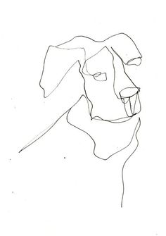 Continuous Line Drawing by Leigh Jackson / Noisy Dog Studio  www.noisydogstudio.com