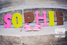 Baby name and shoes