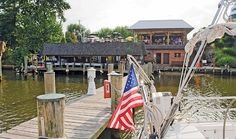 The famous Jimmy Cantler's Riverside Inn- best crabs in the world
