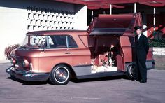1955 GMC Concept Van General Motors, Station Wagon, Buick, Gmc Terrain, Vanz, Roadster, Cool Vans, Weird Cars, Crazy Cars