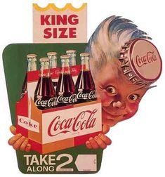 coca cola retro 6 imas de geladeira