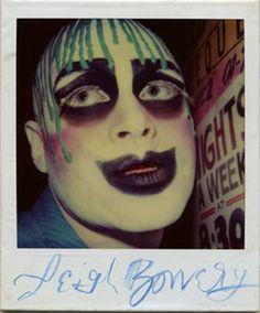 Leigh Bowery #Polaroid #ClubPics #StreetStyle