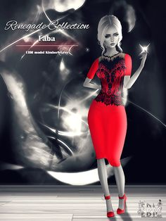 EB Magazine and model KimberlyGrey would like to present the Renegade Collection from EBM sponsor and creator Faba: http://www.imvu.com/shop/product.php?products_id=35447286 (dress) http://www.imvu.com/shop/product.php?products_id=35449712 (heels) http://www.imvu.com/shop/product.php?products_id=35449867 (jewels).
