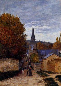 Claude Monet - Street in Saint-Adresse, 1867