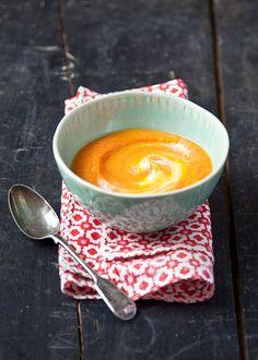honey ginger carrot soup
