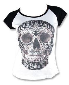Liquor Brand LIVE FAST DIE Damen T-Shirts