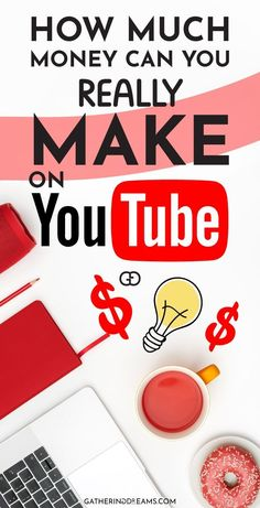 Want to find out how much YouTubers Make? And how you can make money on YouTube? Here you'll find everything you need to know!  Earn money, How To Earn Money, Earn Money Online, Ways to Make Money, Online Income, Earn Money from Home, Ways to Make Money, Work from home, work from home jobs, Work from home ideas, Legit Online Jobs #makemoneyfromhome #sidejobs #onlinejobs #workfromhomejobs #freelancingjobs #workfromhome #makemoneyonline