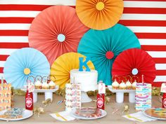 Circus Theme Birthday Party    posted by HJR Rugs