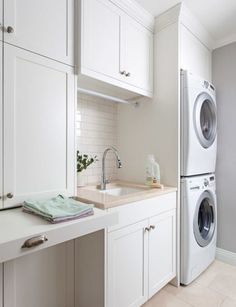 Make the laundry work a little bit harder with ingenious ideas for storage, layout, sorting and storing Top tips for a hard-working laundry Wherever you have your washing machine and dryer, make sure there is good ventilation and that the dryer doesn't steam up the whole room. Also take care with the acoustics – install …