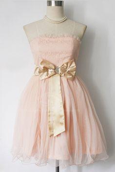 Retro Blush Dress