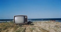 TV at the beach Cabo Polonio Uruguay  Fine Art by artefotograma, $15.00