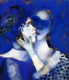 Artesplorando: Gli amanti in blu, Marc Chagall