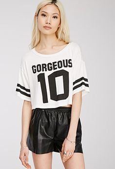 Gorgeous 10 Graphic Tee | FOREVER21 - 2000133280