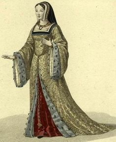dresses from the 1500s | Tudor - Past A La Mode: A Historical Fashion Site