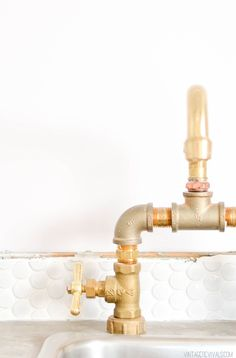 The Nugget Vintage Trailer Makeover Reveal My Barbie Dream House Pinterest Trailers Faucet And