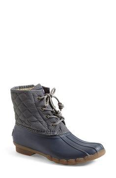 Sperry 'Saltwater' Waterproof Rain Boot (Women) | Nordstrom