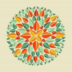 Leaves yoga mandala by Cienpies Design / Illustrations, via Dreamstime Mandala Design, Mandala Art, Mandalas Painting, Mandalas Drawing, Henna, Tattoo Brazo, Fruit Icons, Yoga, Mandala Coloring