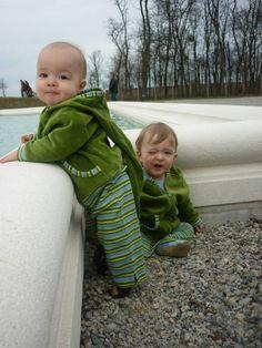 Leela Cotton Bio Baumwoll Kapuzen Jacke für Babys und Kinder