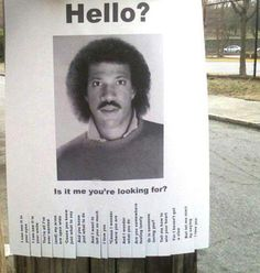 Lionel Richie Invites. So fun! Find everything you need to plan your own 80s party at http://sparklerparties.com/rock-the-80s/
