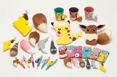 Pokemon Center Items
