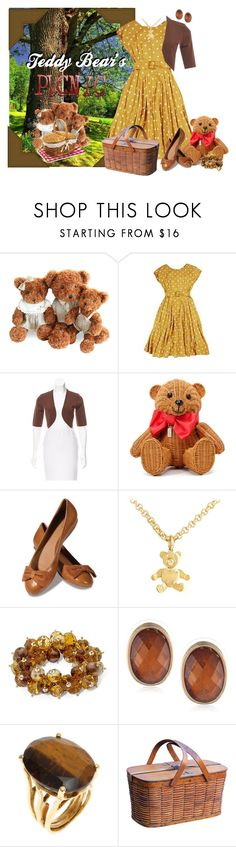 """Teddy Bear's Picnic"" by kathleensmith-i ❤ liked on Polyvore featuring Michael Kors, Kate Spade, Lillybee, Pomellato, Napier and Bounkit"