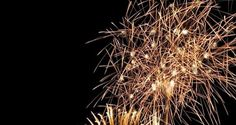 #Nottedifiaba sul #lago di #Garda - #fuochi d'artificio in #trentino