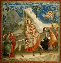 Durante la época medieval ya en su fase siguiente con la época gótica se va a reemplazar la pintura sobre mural por la pintura en tabla y en vidrio, siempre con temas religiosos.