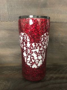 Excited to share this item from my shop: Disney Glitter Tumbler. Glitter Projects, Glitter Crafts, Glitter Paint, Glitter Decorations, Glitter Letters, Vinyl Projects, Disney Cups, Disney Diy, Disney Travel