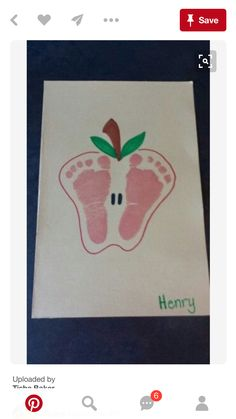 Apple Art-Feet