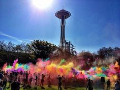 Color Run - Seattle. May 2013 I'm so there!