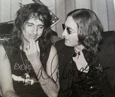 Alice Cooper and John Lennon