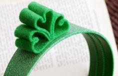 St. Patrick's Day Shamrock Headband