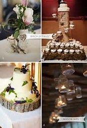 Image result for Birch Wedding Ideas