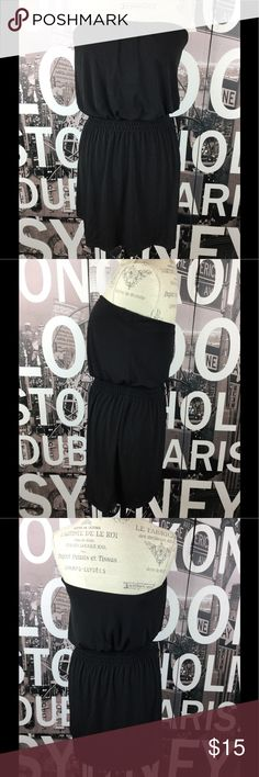White House Black Market strapless mini Excellent condition. Very soft and slinky. Strapless. Size small. Length 25.5 Bust 15 Waist 13 Hips 19 White House Black Market Dresses Mini