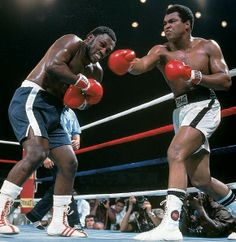 1975 - Muhammad Ali and Joe Frazier