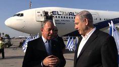 PM Netanyahu receives former mayor of New York Michael Bloomberg
