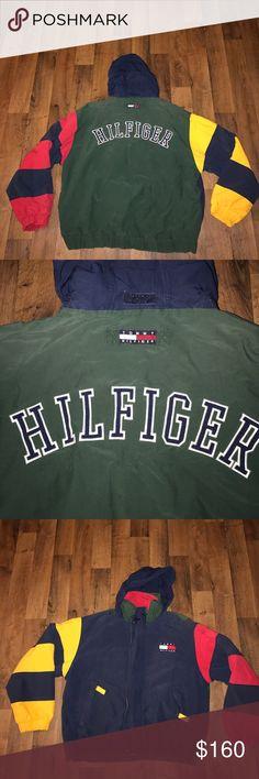 Vintage Large Tommy Hilfiger Fleece Lined Jacket Excellent condition Tommy Hilfiger Jackets & Coats Performance Jackets