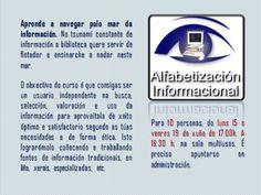 Alfebetización informacional.