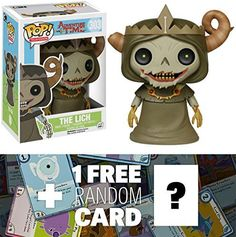 The Lich: Funko POP! x Adventure Time Vinyl Figure + 1 FREE Official Adventure Time Trading Card Bundle [69773]