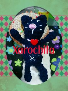 Gato xarochita amigurumi cat
