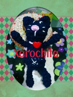 Gato xarochita amigurumi cat