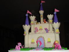 my little pony birthday cake ideas | Cute My Little Pony Birthday Party Supplies - Tattoos, Pencils, Loot ...