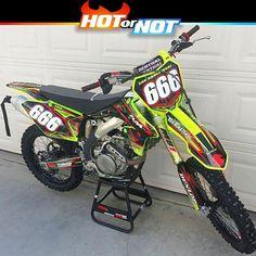 Hot or Not? Suzuki rmz450 by @zukie420 #hotornotmx #motocross #dirtbike #suzuki #mx #rmz450 #dirtbikes #mxgp #ama #supercross