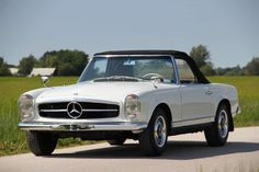 Mercedes Pagoda For Sale Mercedes 230, Classic Mercedes, Mercedes Benz Cars, Classic Fords For Sale, Classic Cars, Classic Auto, M Benz, Daimler Benz, Convertible