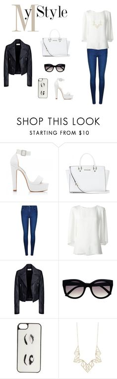 """In the city. My style."" by francaispapillon ❤ liked on Polyvore featuring Forever New, MICHAEL Michael Kors, Calvin Klein, Oscar de la Renta, Balenciaga, Retrò, Kate Spade, Panacea, women's clothing and women"